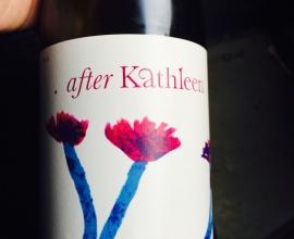 . after Kathleen